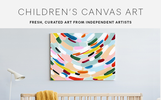 Kids Canvas Wall Art