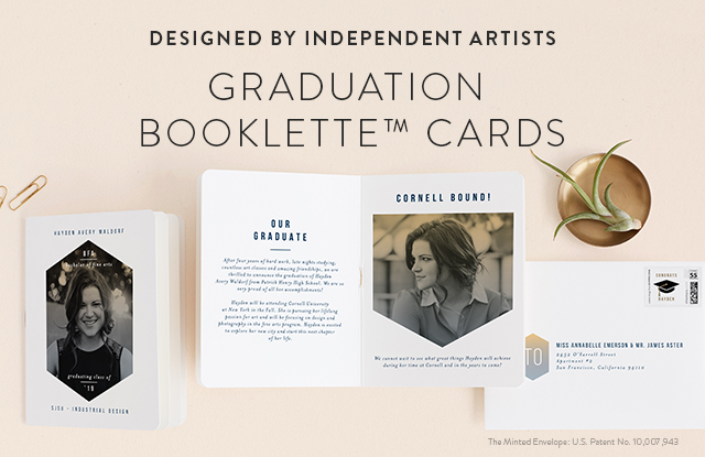 Graduation Booklette Cards