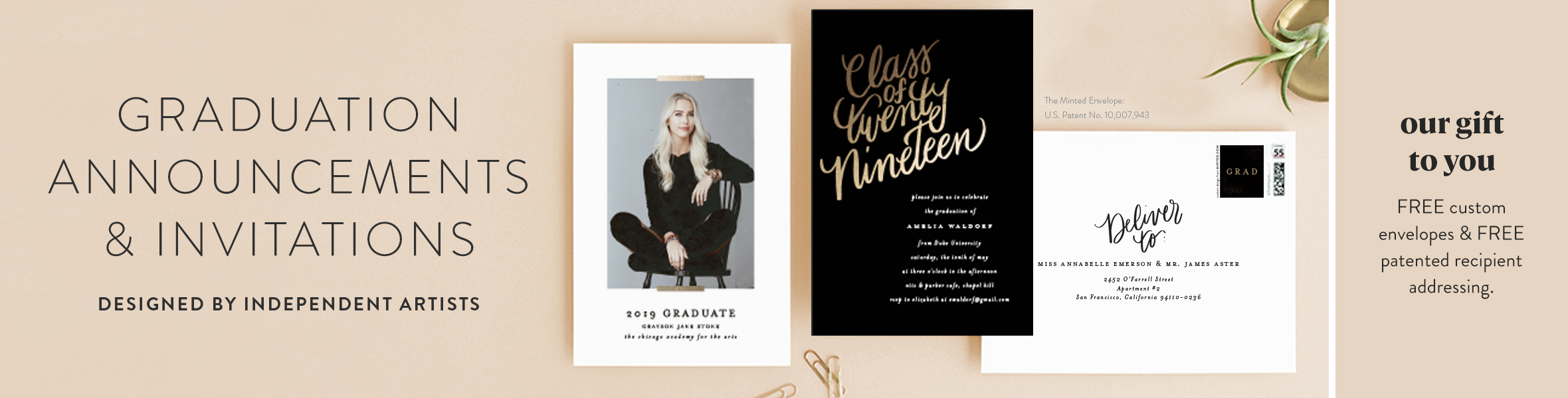 Graduation Party Announcements and Invitations