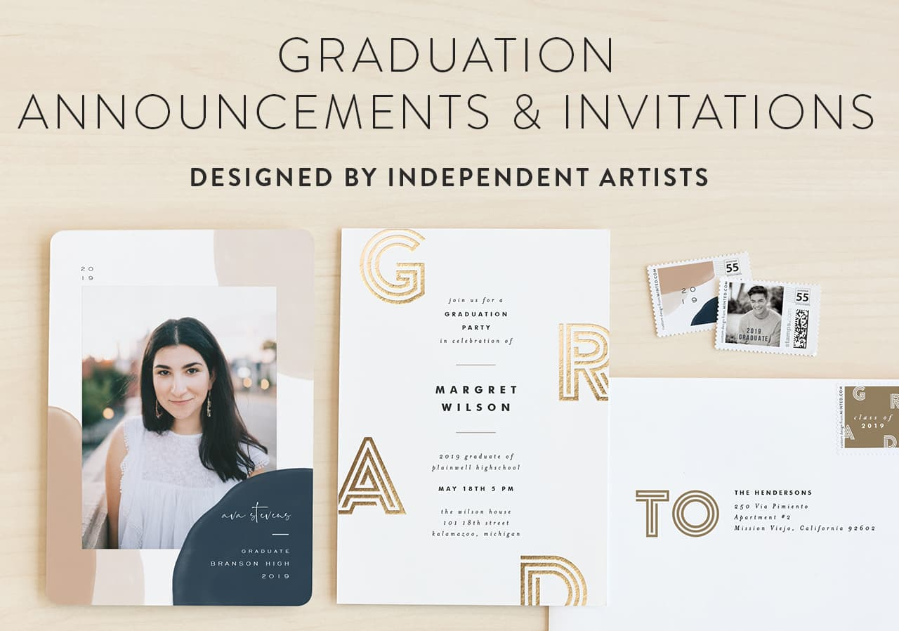 Graduation Announcements and Invitations