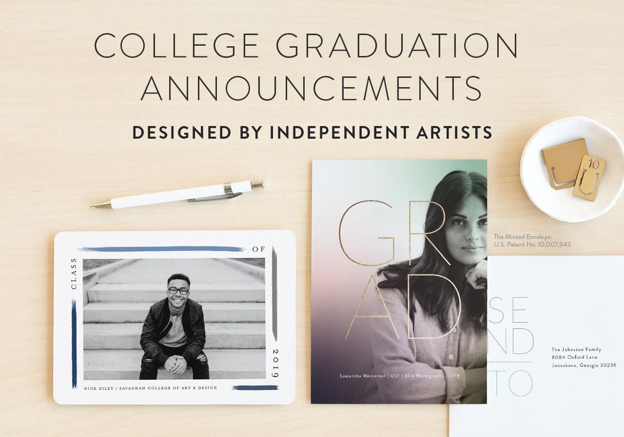 College Graduation Announcements