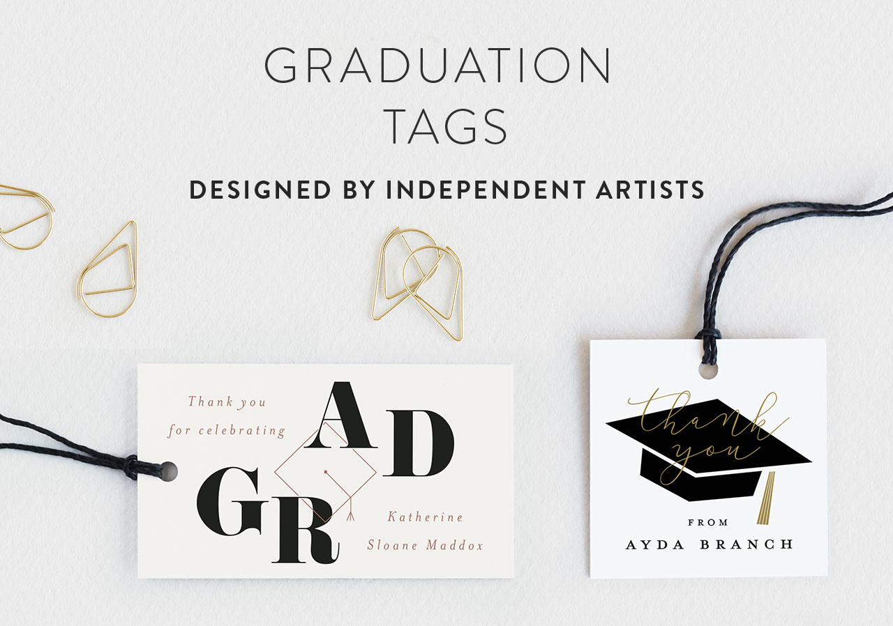 Graduation Favor Tags