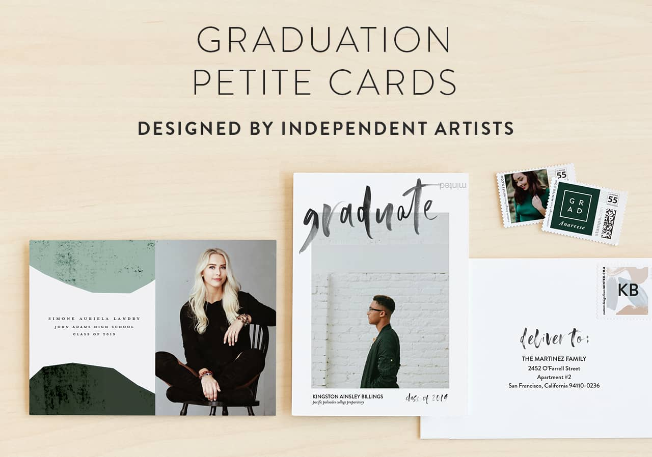 Petite Graduation Invitations