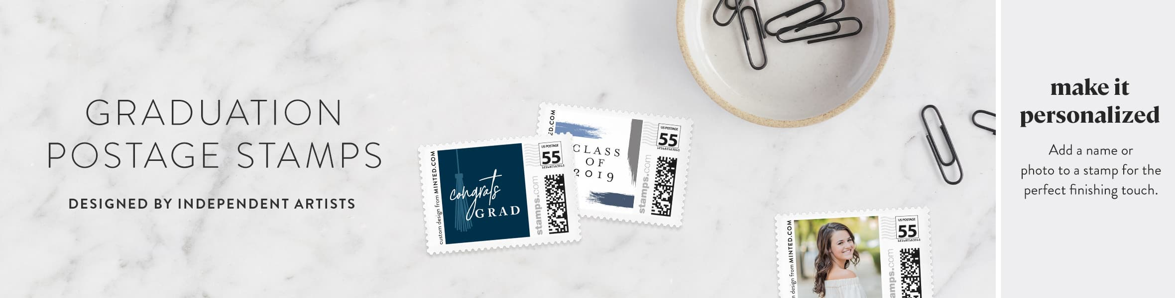 Graduation Postage Stamps