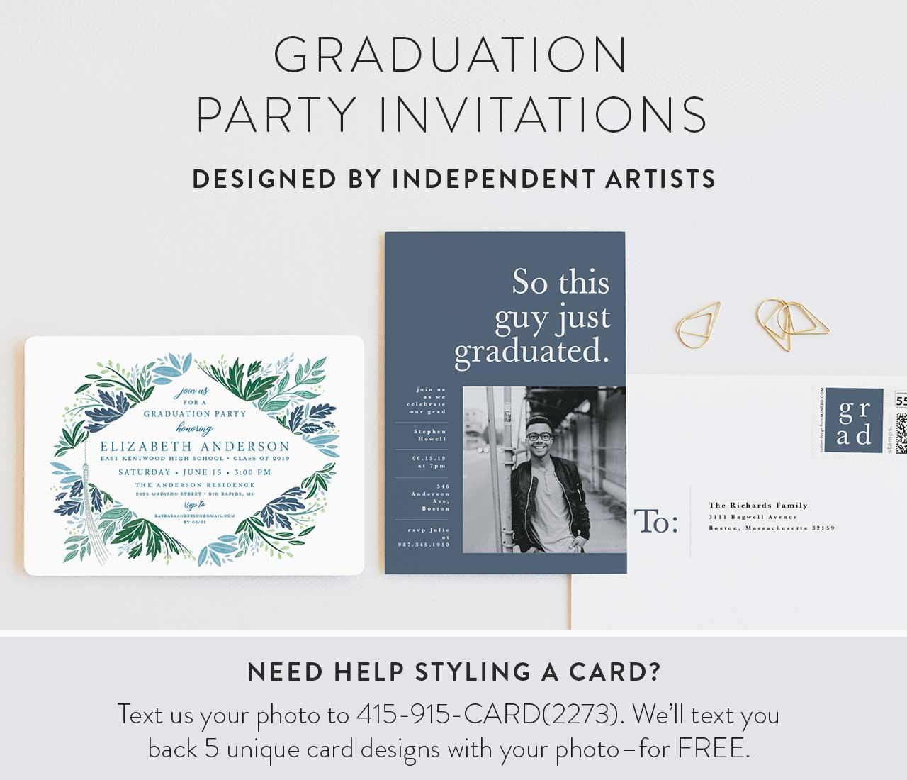 Graduation Party Invitations