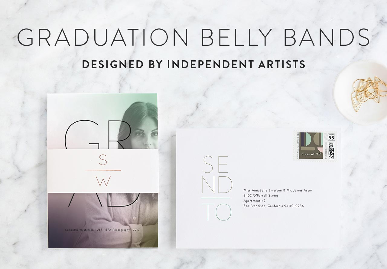 Graduation Belly Bands