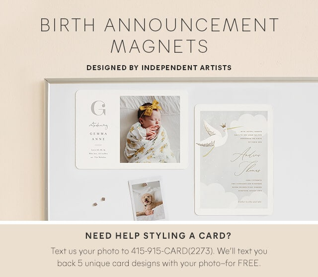 Birth Announcement Magnets