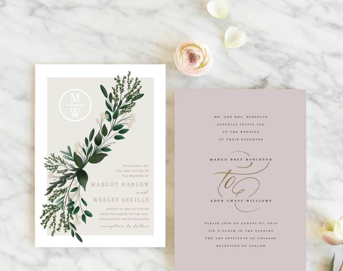 New! 2019 Wedding Invitation Collection