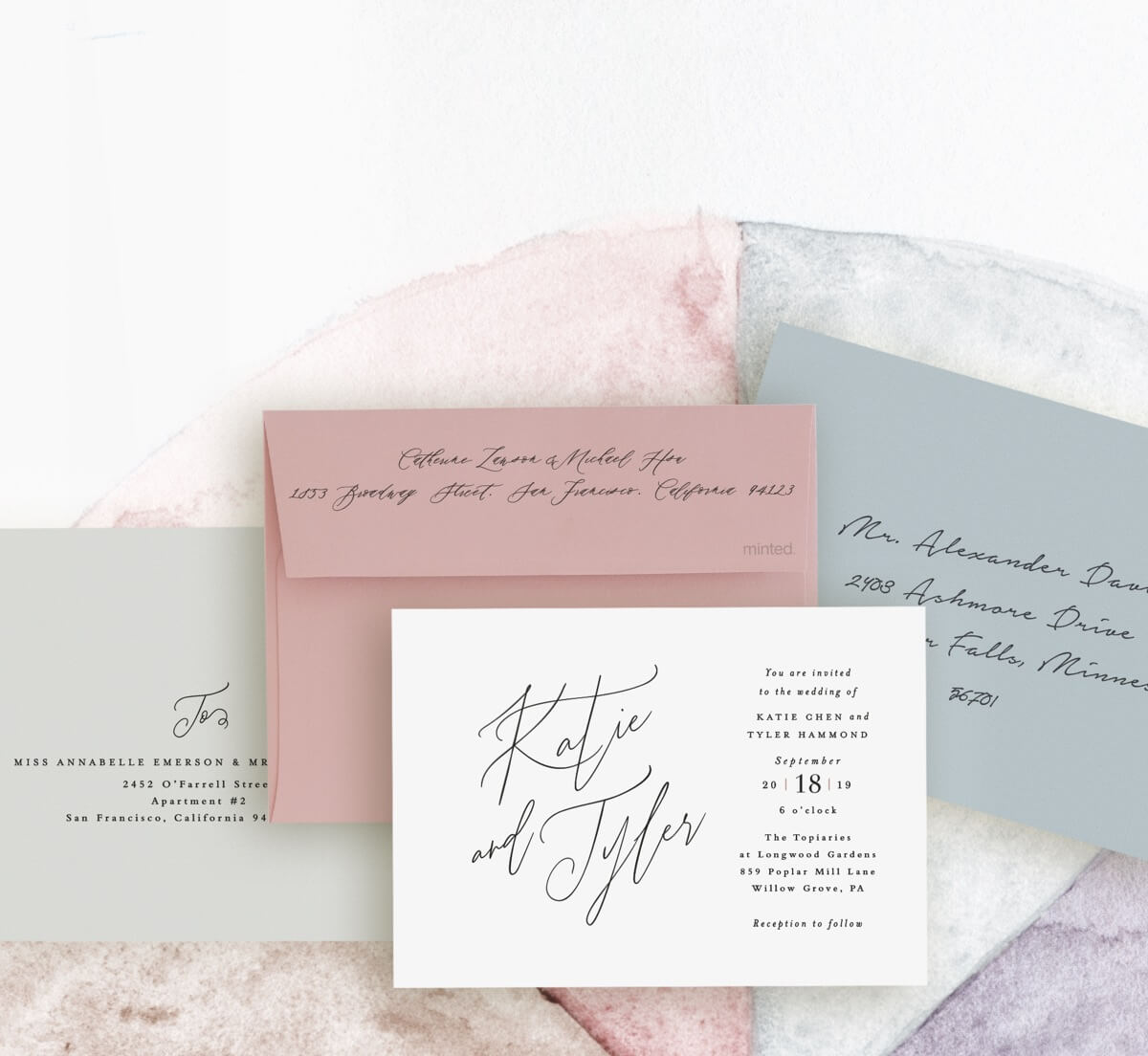 New Envelope Colors