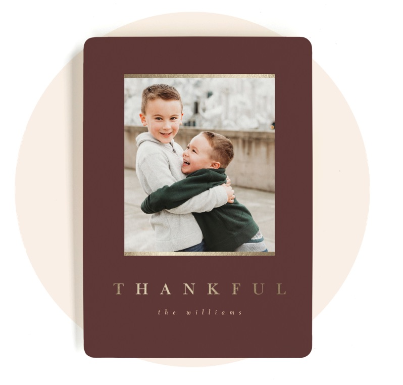 Thanksgiving Photo Cards