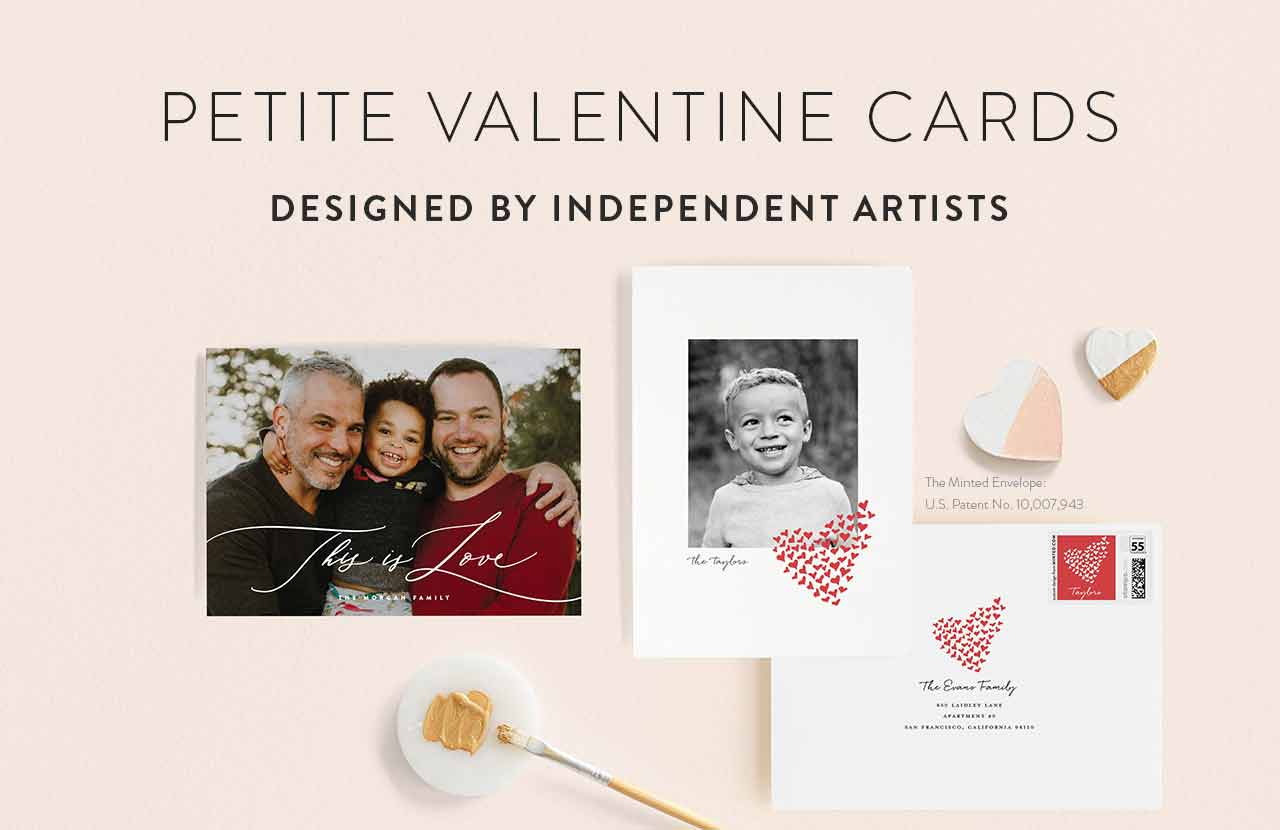 Valentine Petite Cards