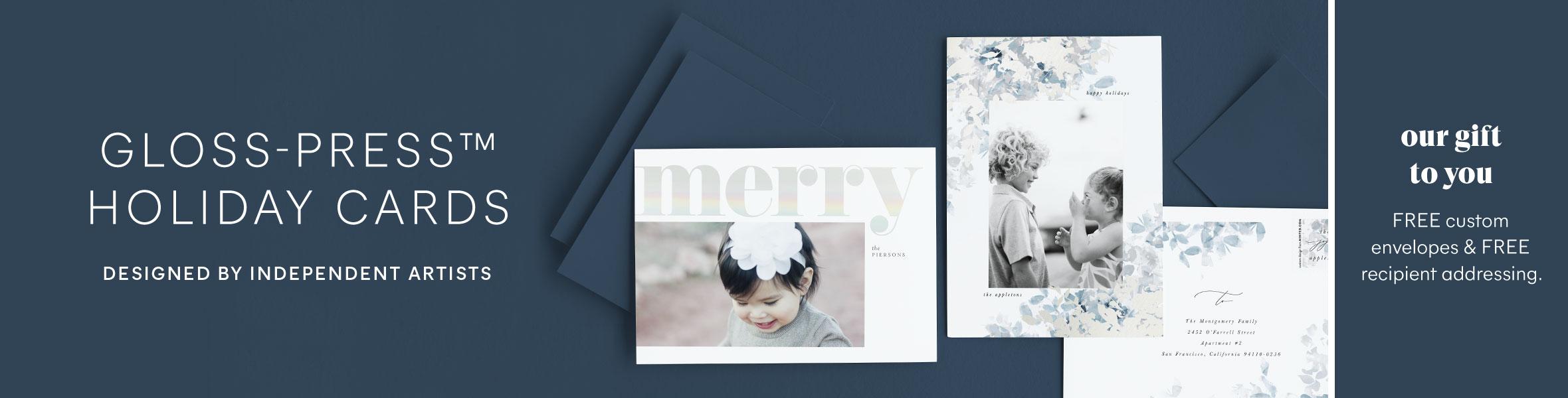 Gloss Press Photo Cards