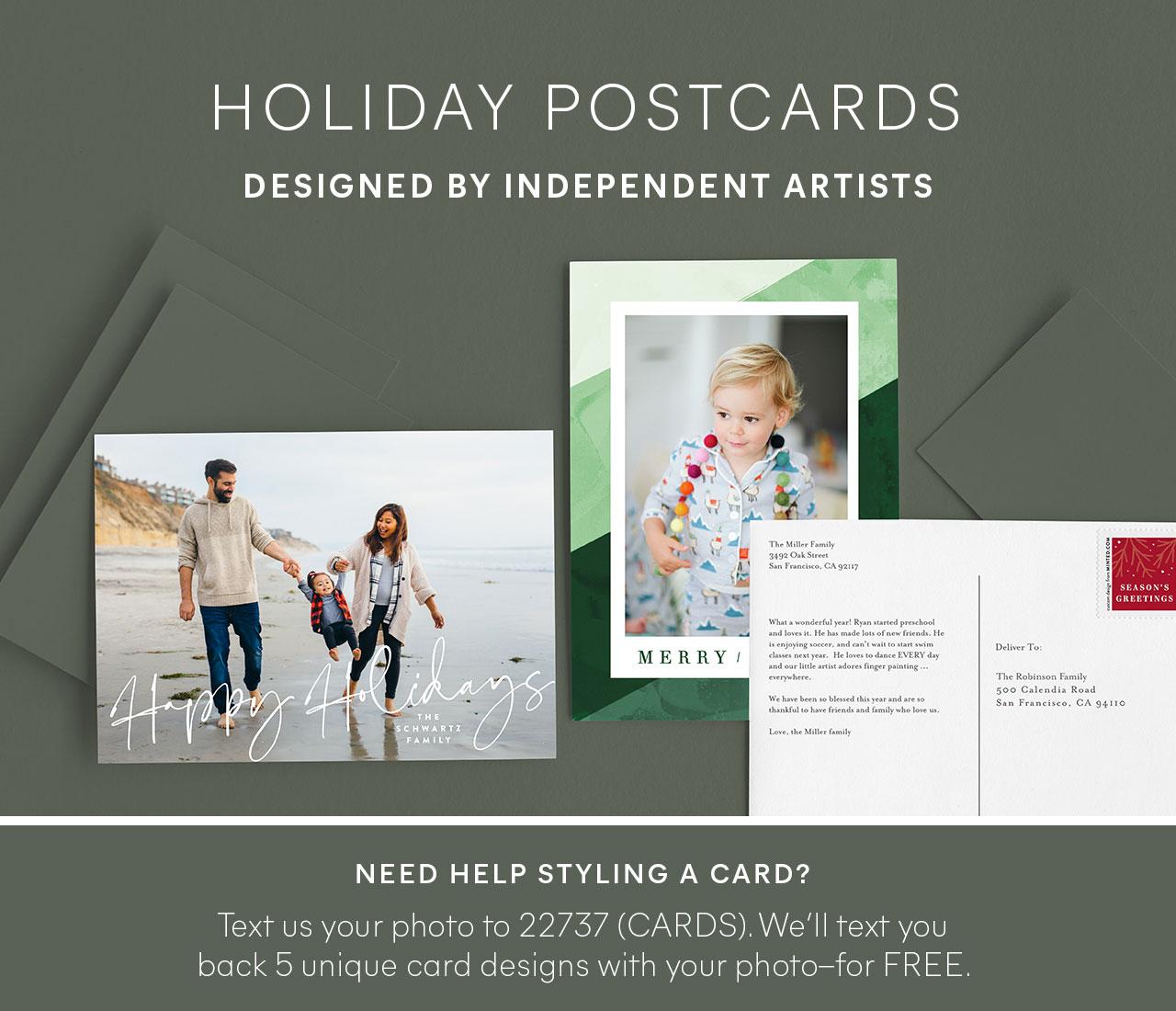 Holiday Postards