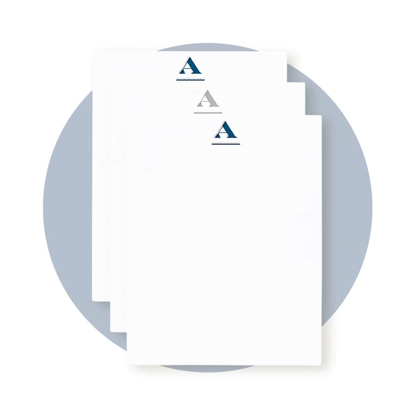 Letterpress Monogram