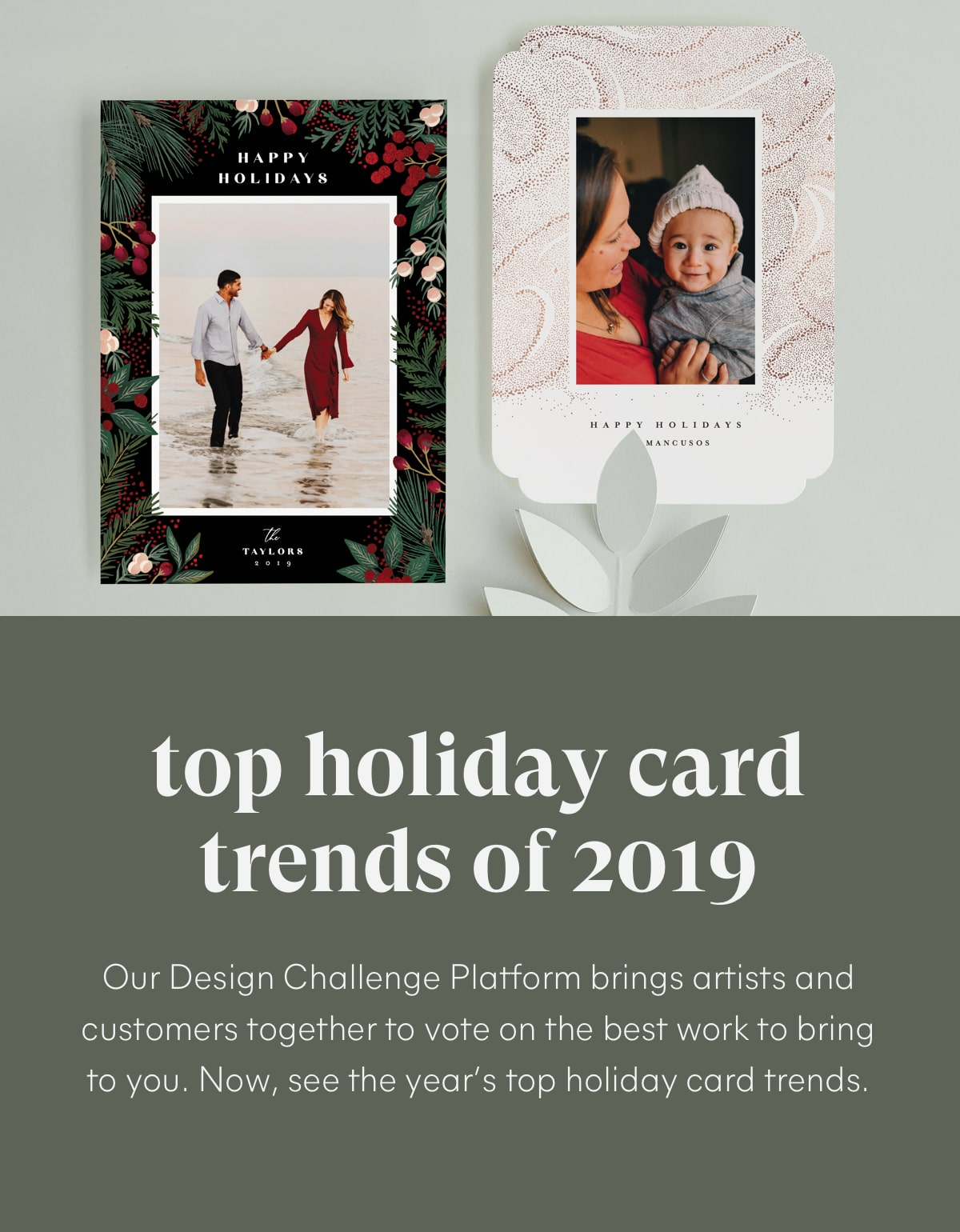 The 2019 Holiday Card Collection - Top Trends