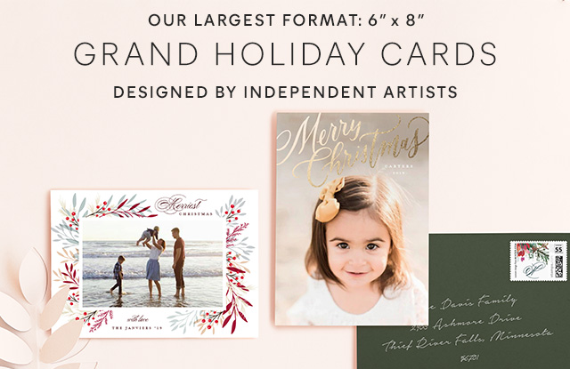 Grand Holiday Cards
