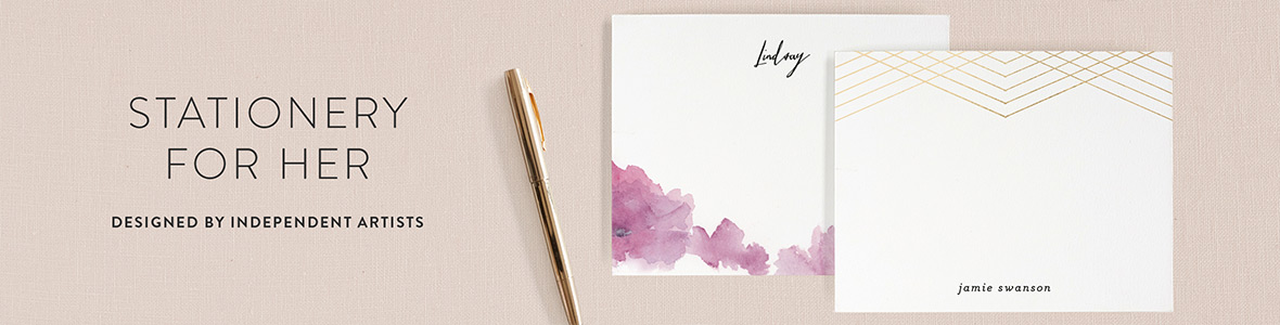 Stationery for Her