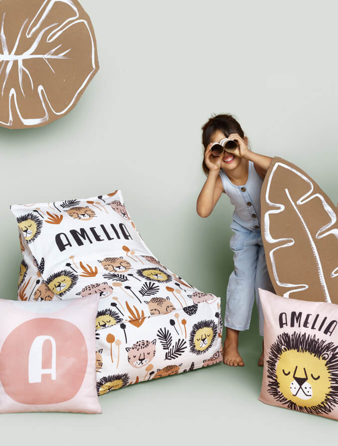 Personalizable Pillows & Chairs