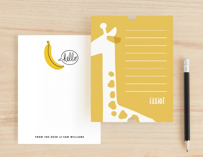 Personalized Kid's Stationery