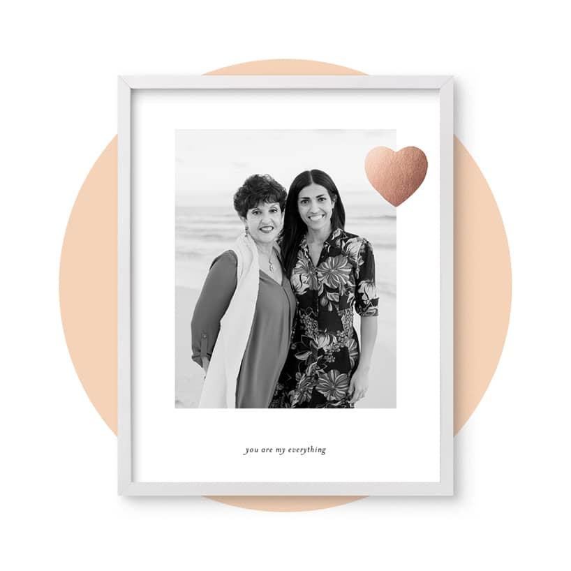 Mom Love photo gift
