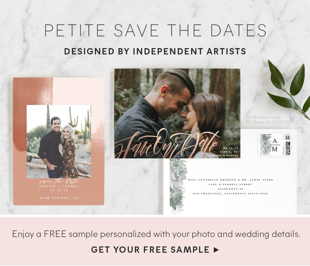 Petite Save the Dates
