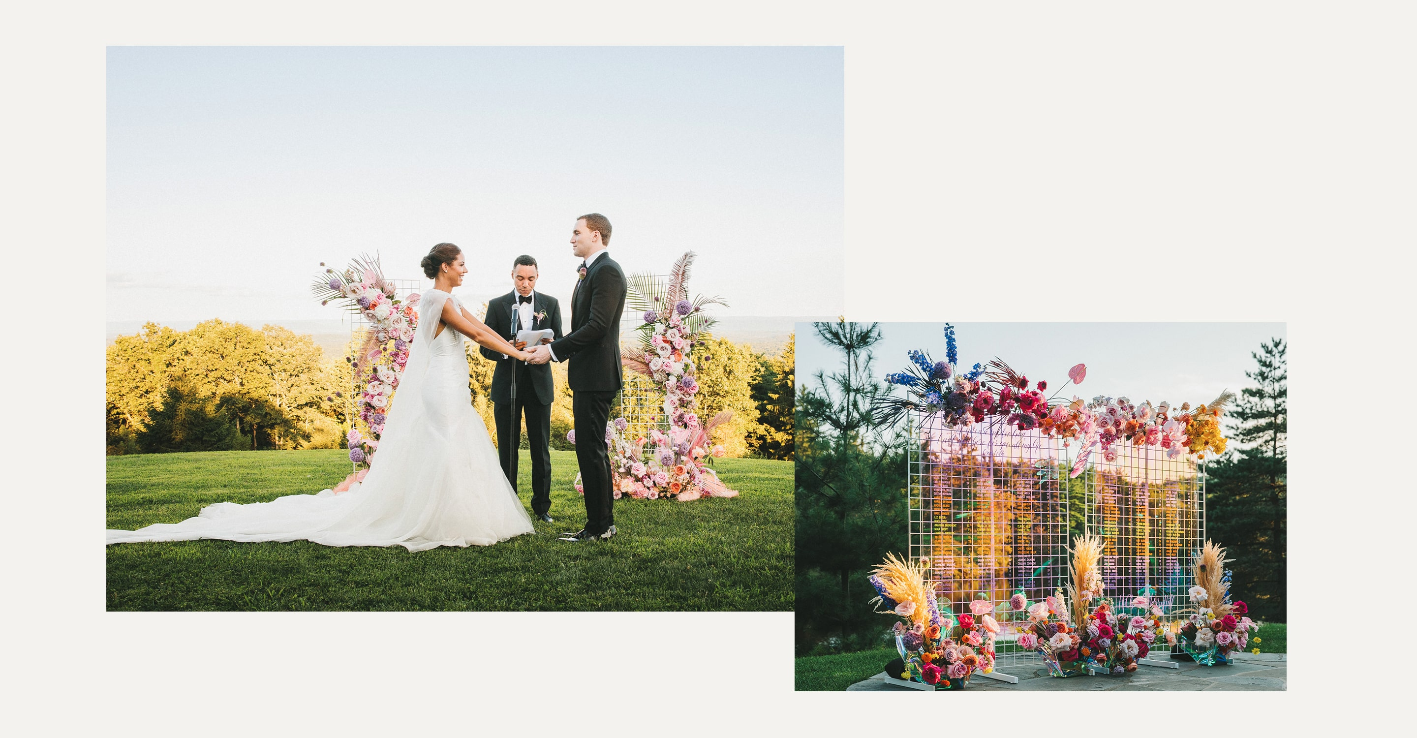 Minted Real Weddings: Simone & Charles