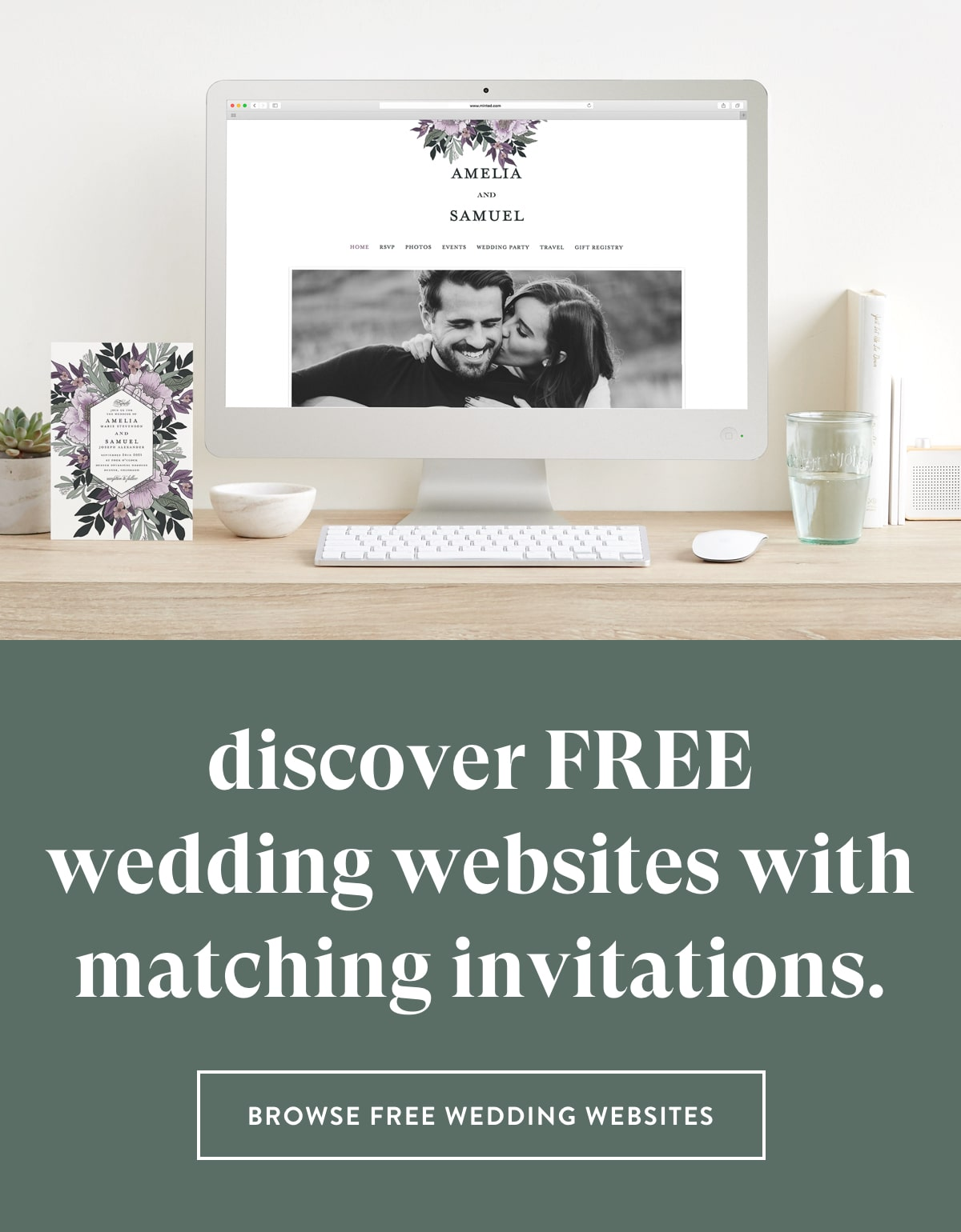 Browse Free Wedding Websites