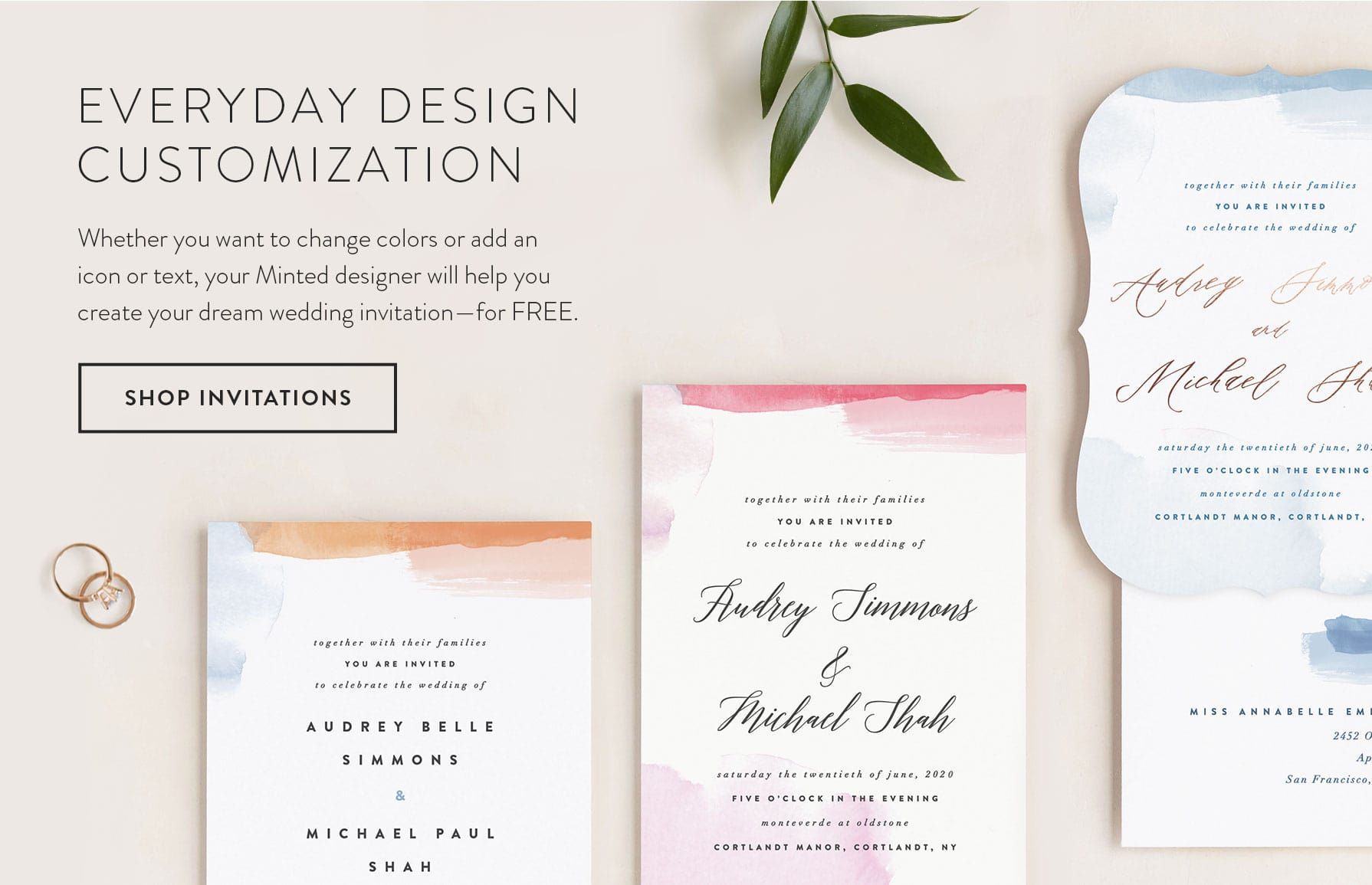 Everyday Design Customization