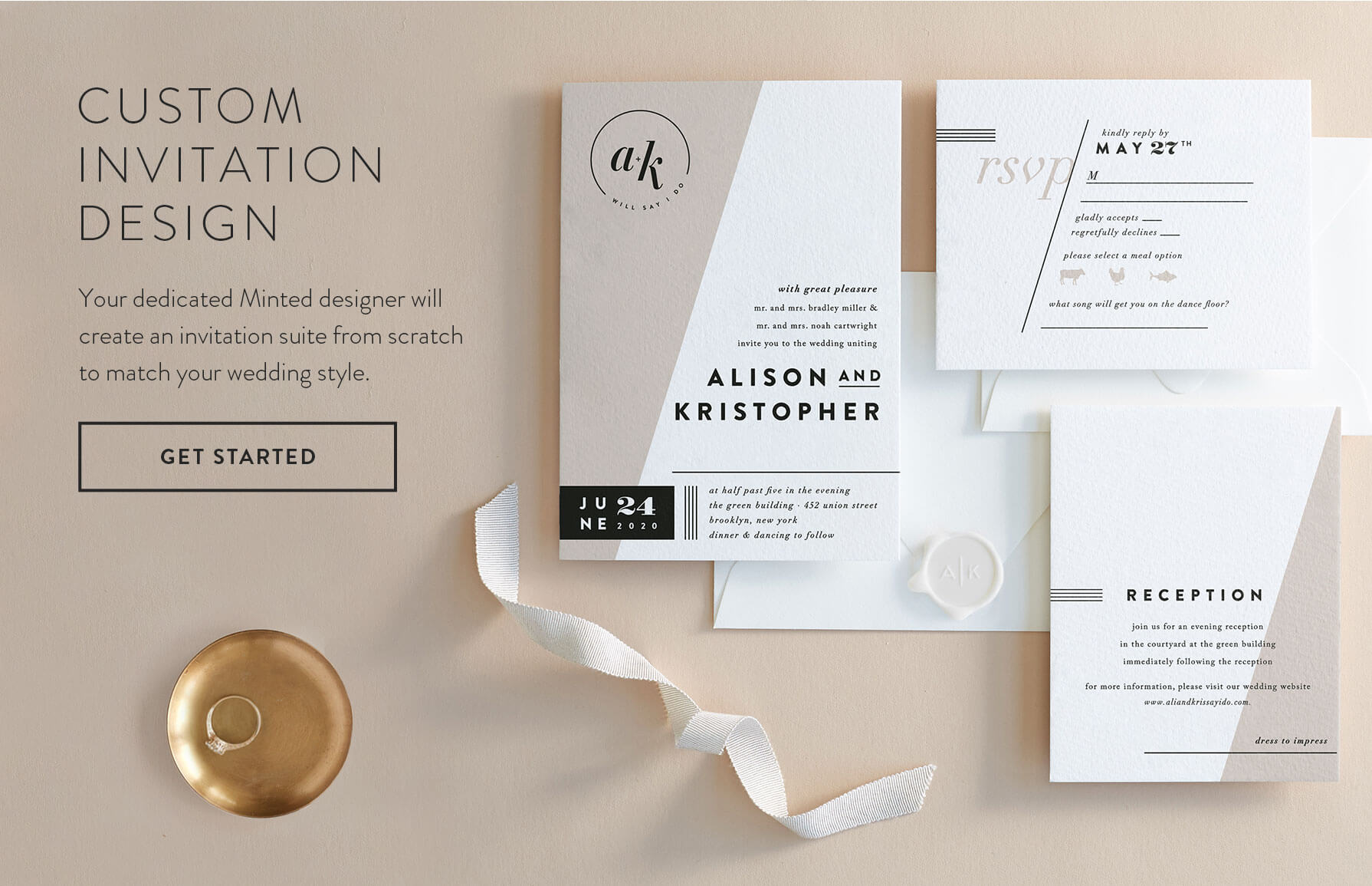 Get Started with Custom Invitation Design