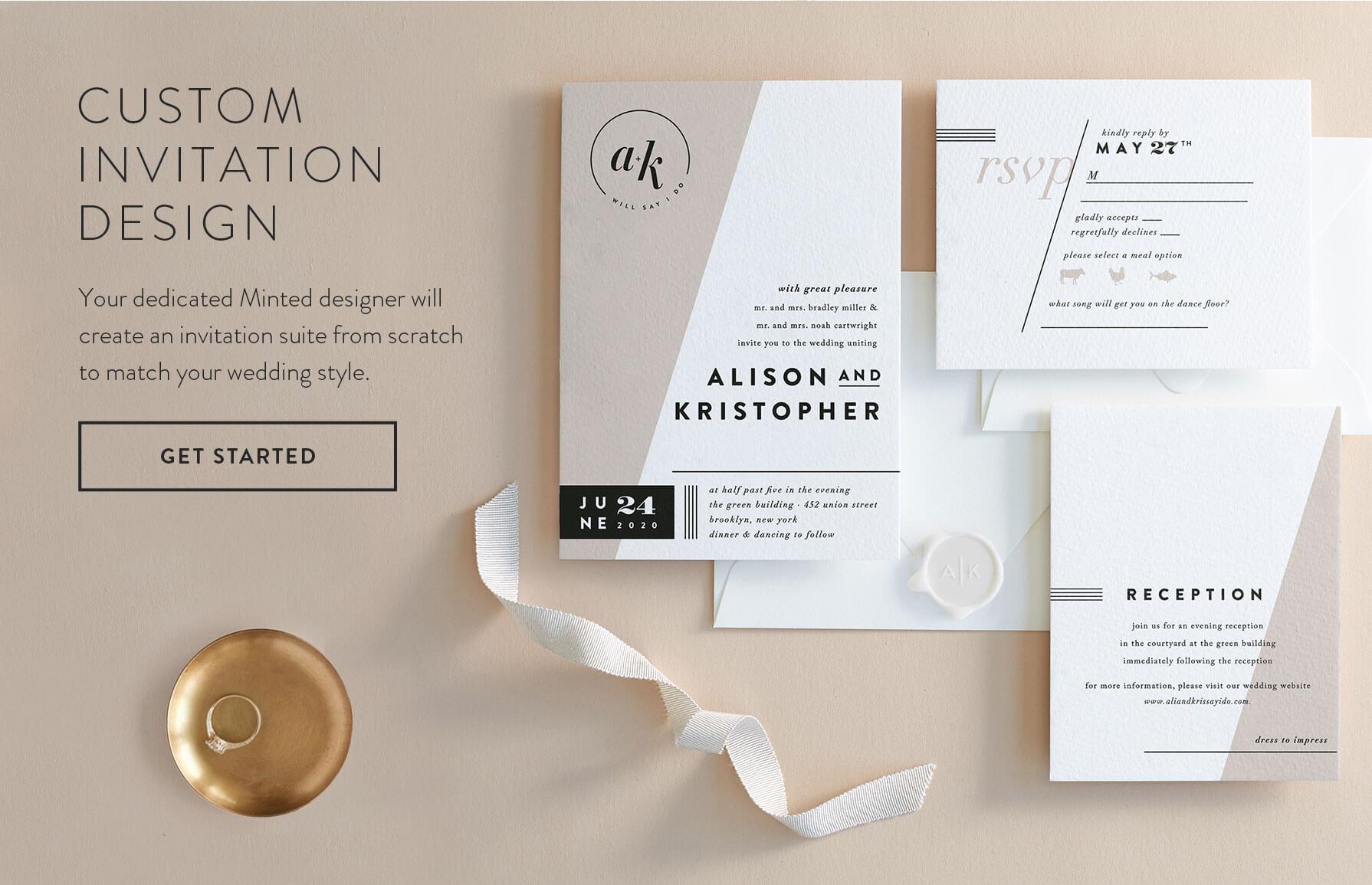 Get Started with Custom Invitation Design