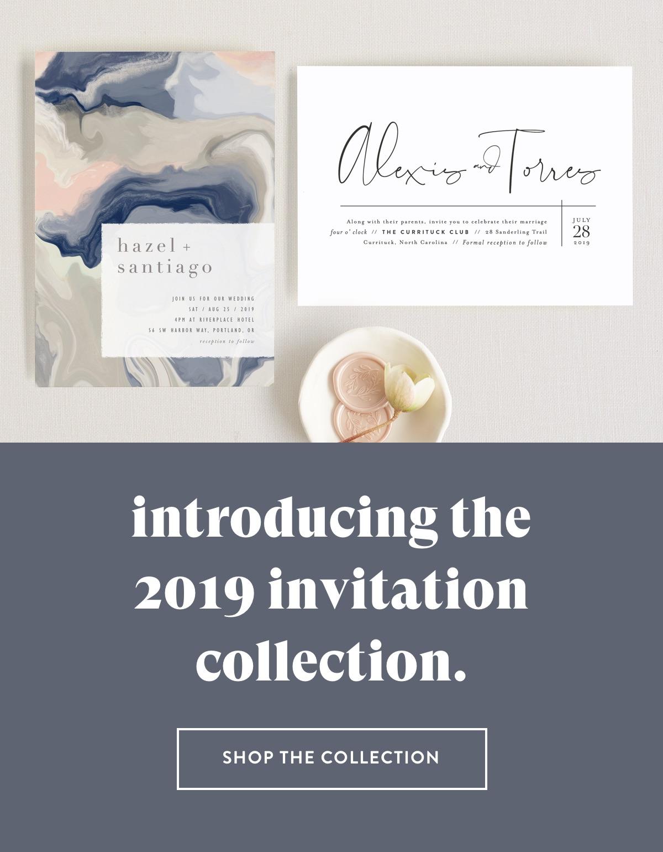 New 2019 Invitations