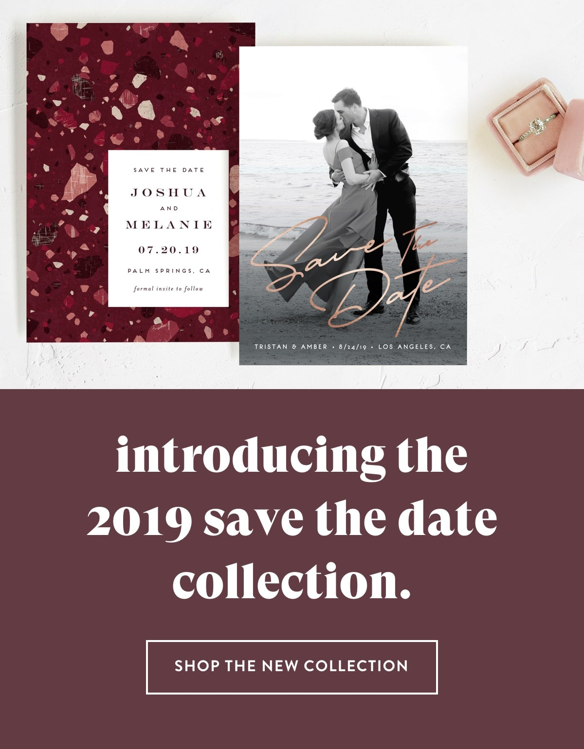 Shop the 2019 Save the Date Collection