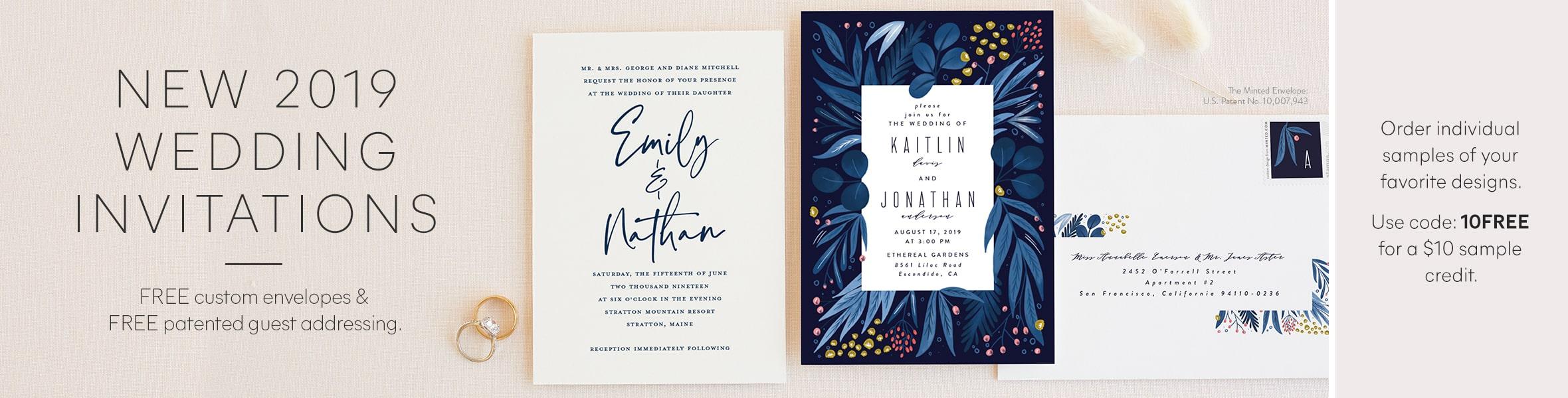 New Wedding Invitations
