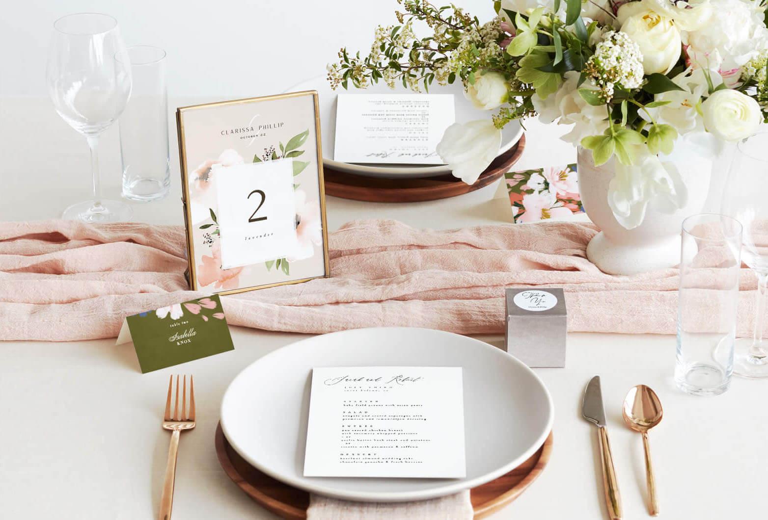 Ceremony and Reception essentials