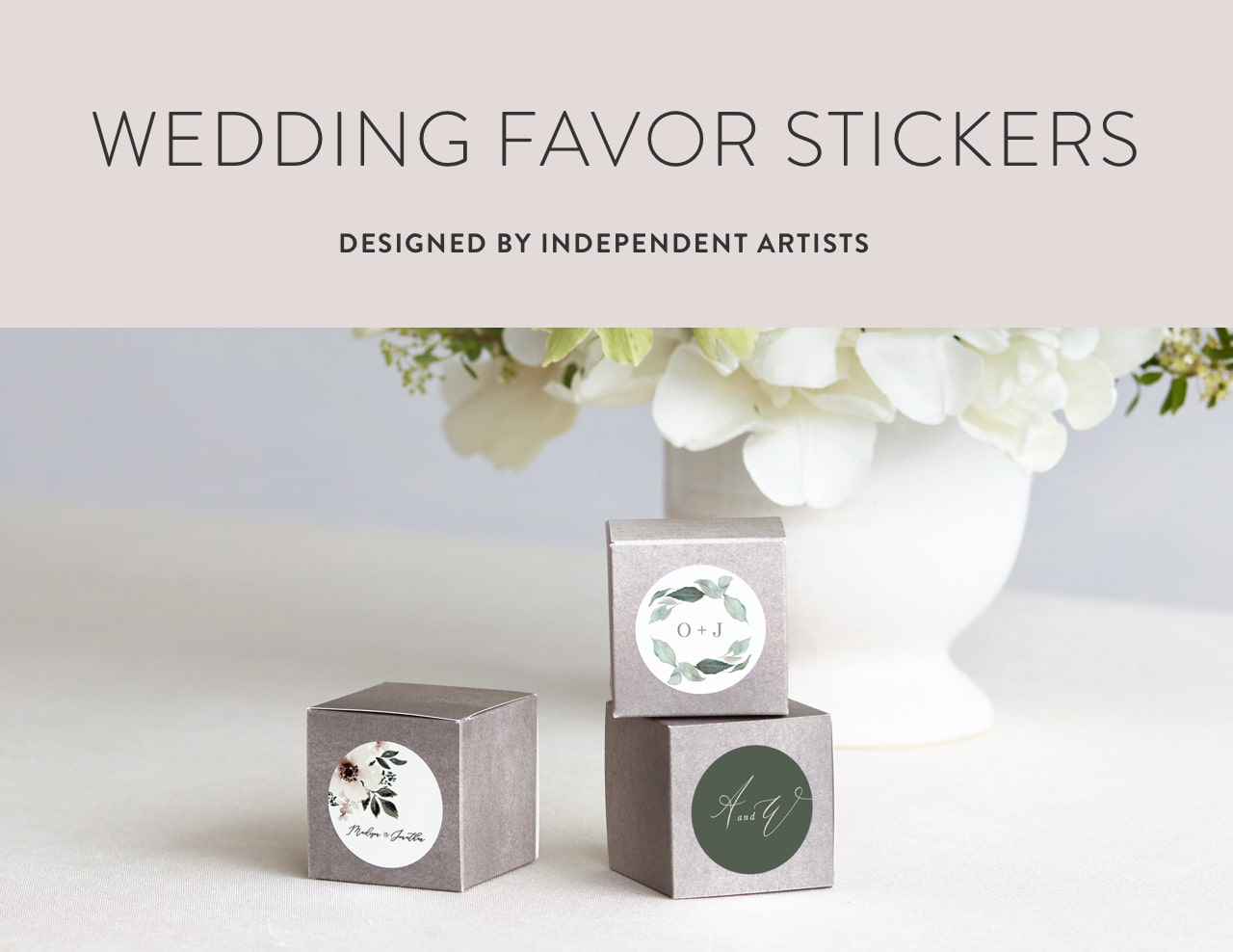 Wedding Favor Stickers