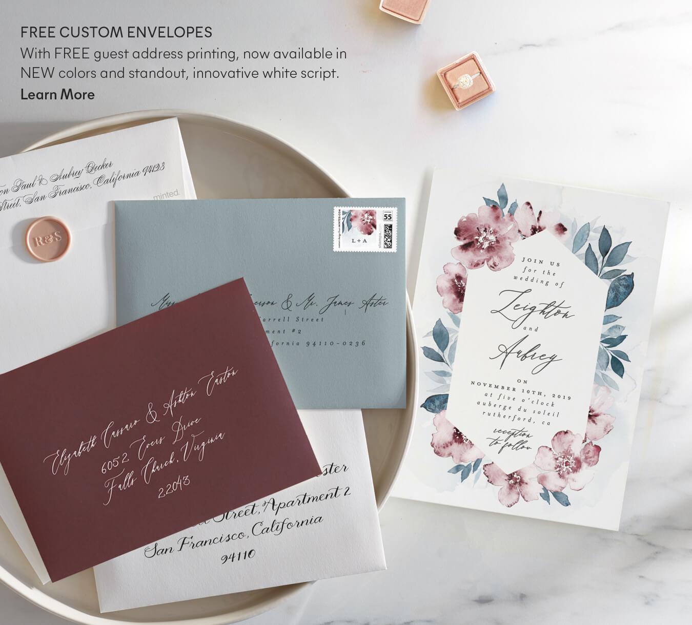 Free Custom Envelopes