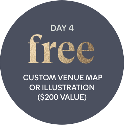 Day 4 Offer: free - Free Custom Venue Map or Illustration ($200 Value)