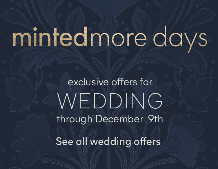 Wedding MintedMore Days
