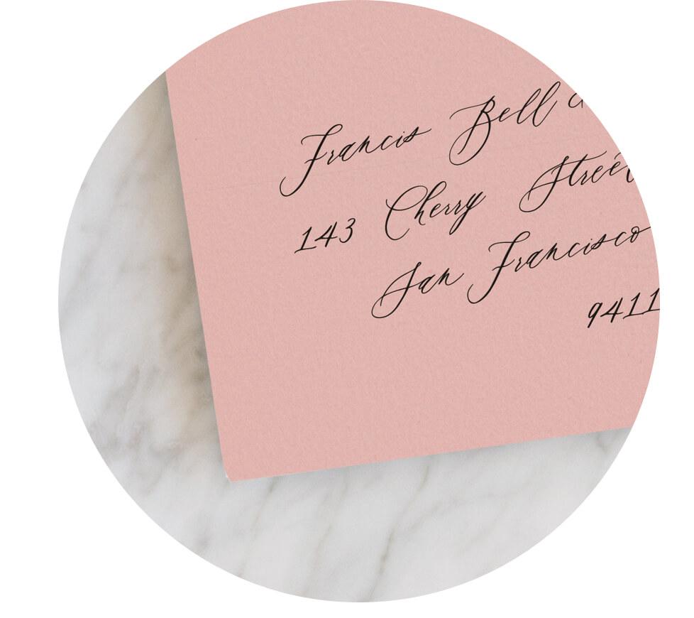 Antique Rose Envelopes