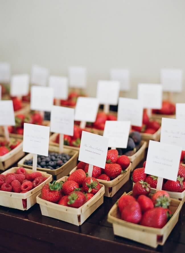 Fruit Baskets Seating Display