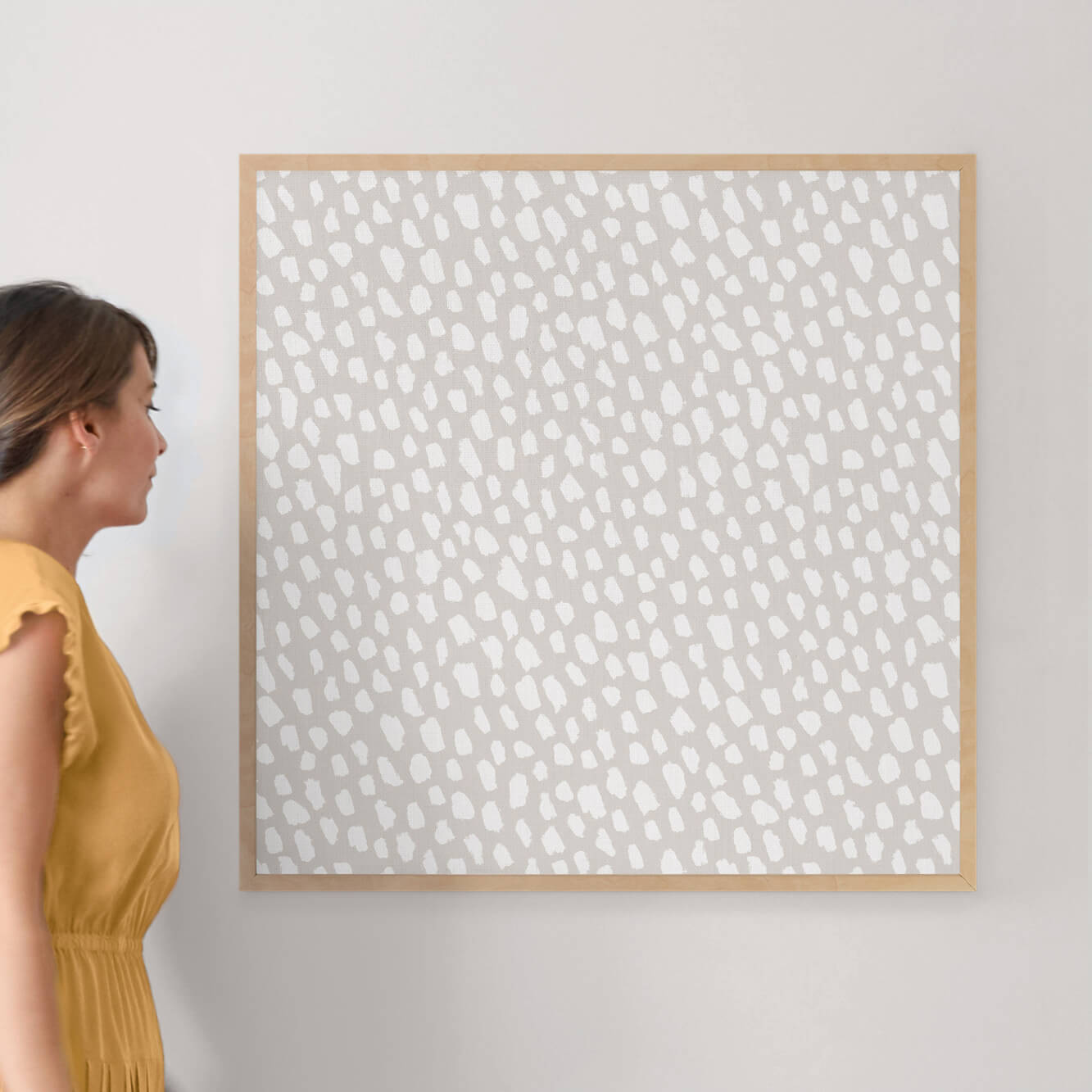"""On the Spot by Hooray Creative: 30"""" x 30"""" @ $157.00"""