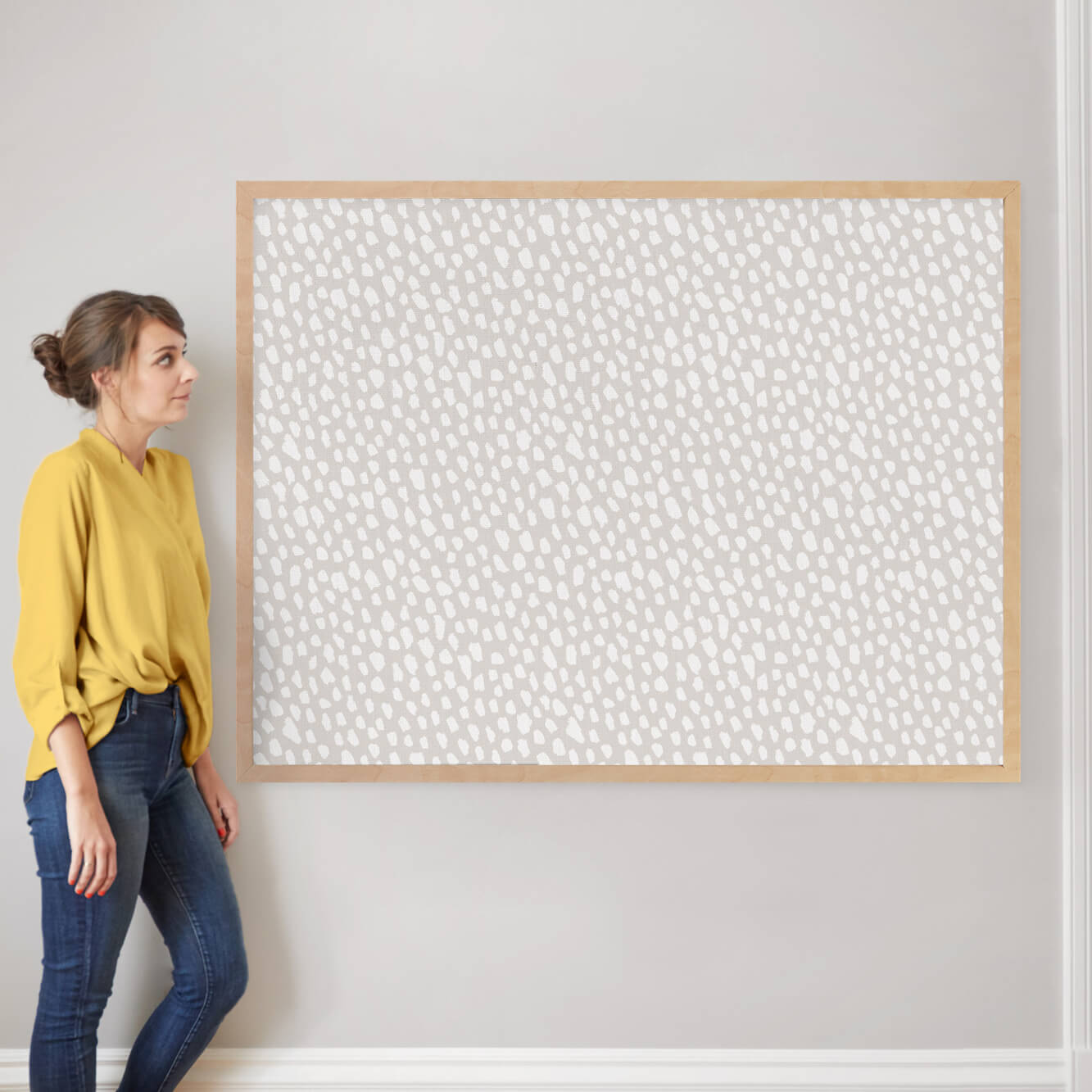 """On the Spot by Hooray Creative: 40"""" x 54"""" @ $230.00"""