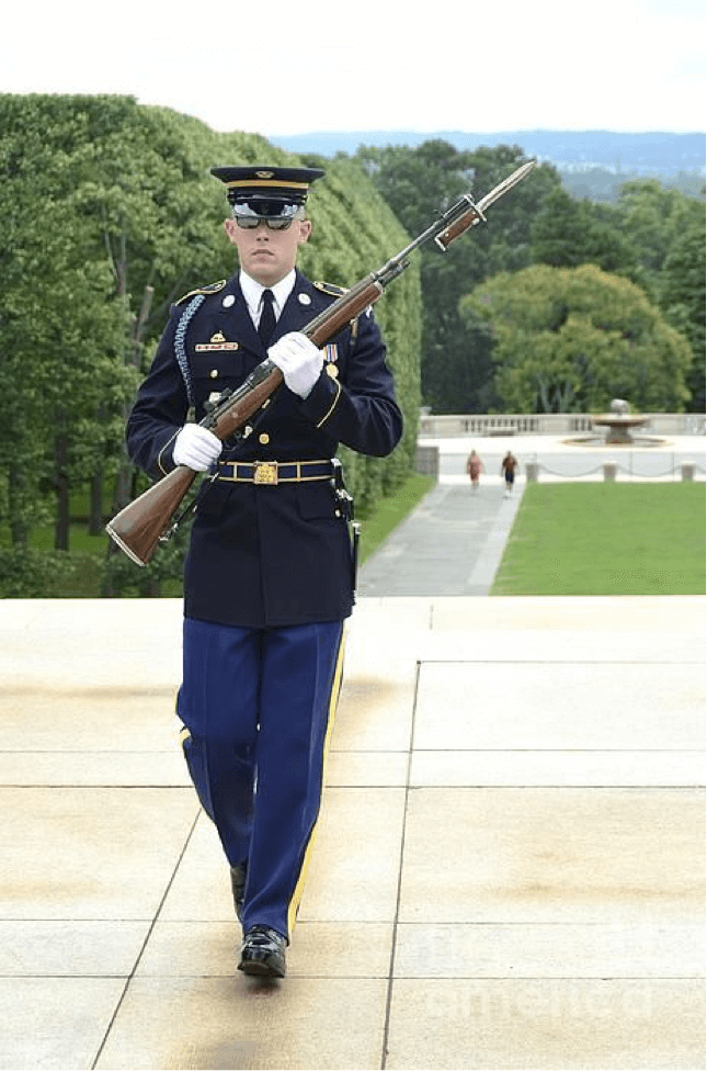 Soldier in uniform