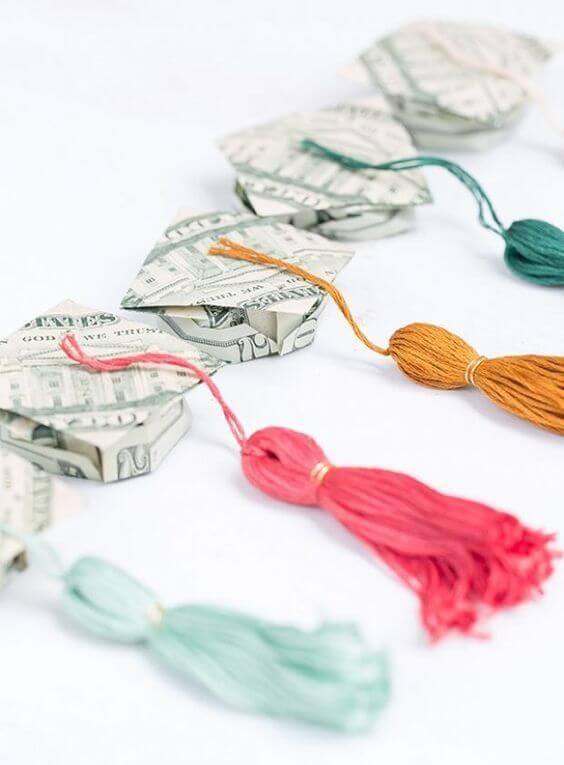 Origami Graduation Caps