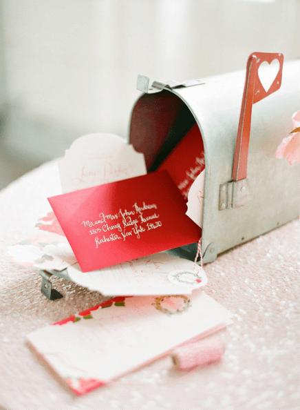 Valentines in mailbox
