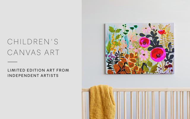 Kids Canvas Wall Art