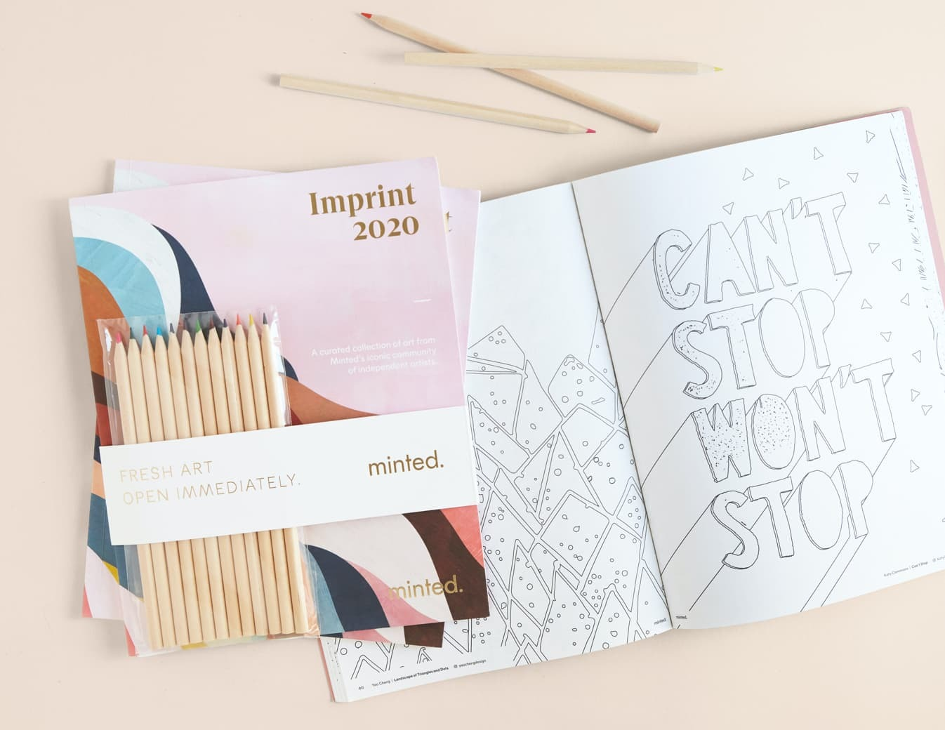 Minted Coloring Book