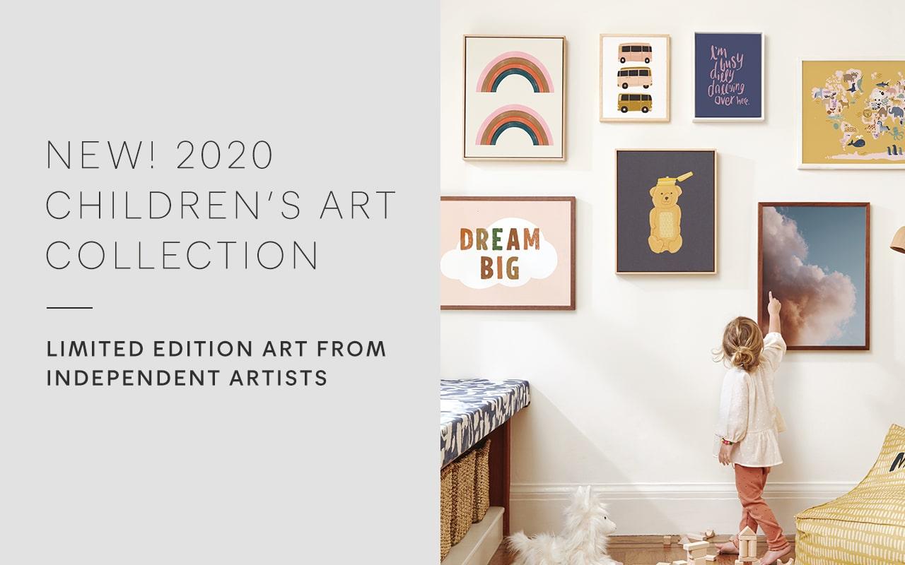 New Kids Wall Art