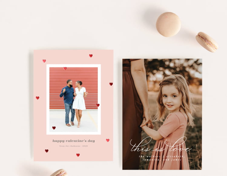 Shop Valentine Photo Cards