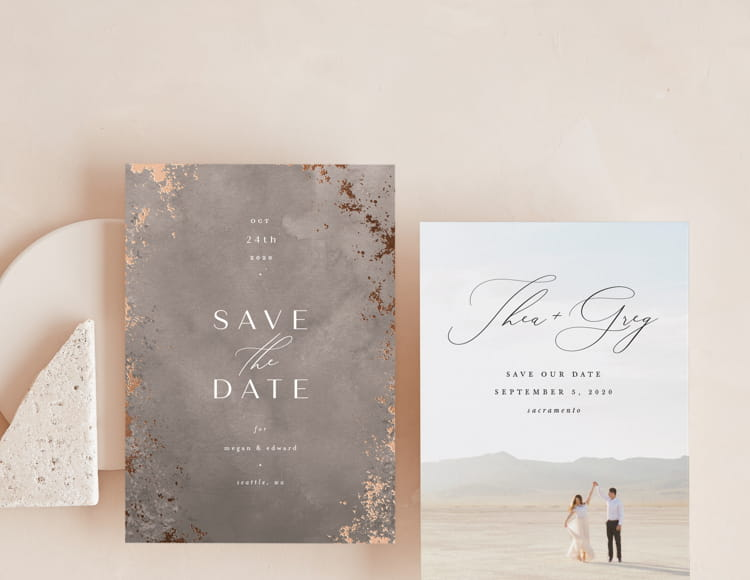 Shop the 2020 Save the Date Collection